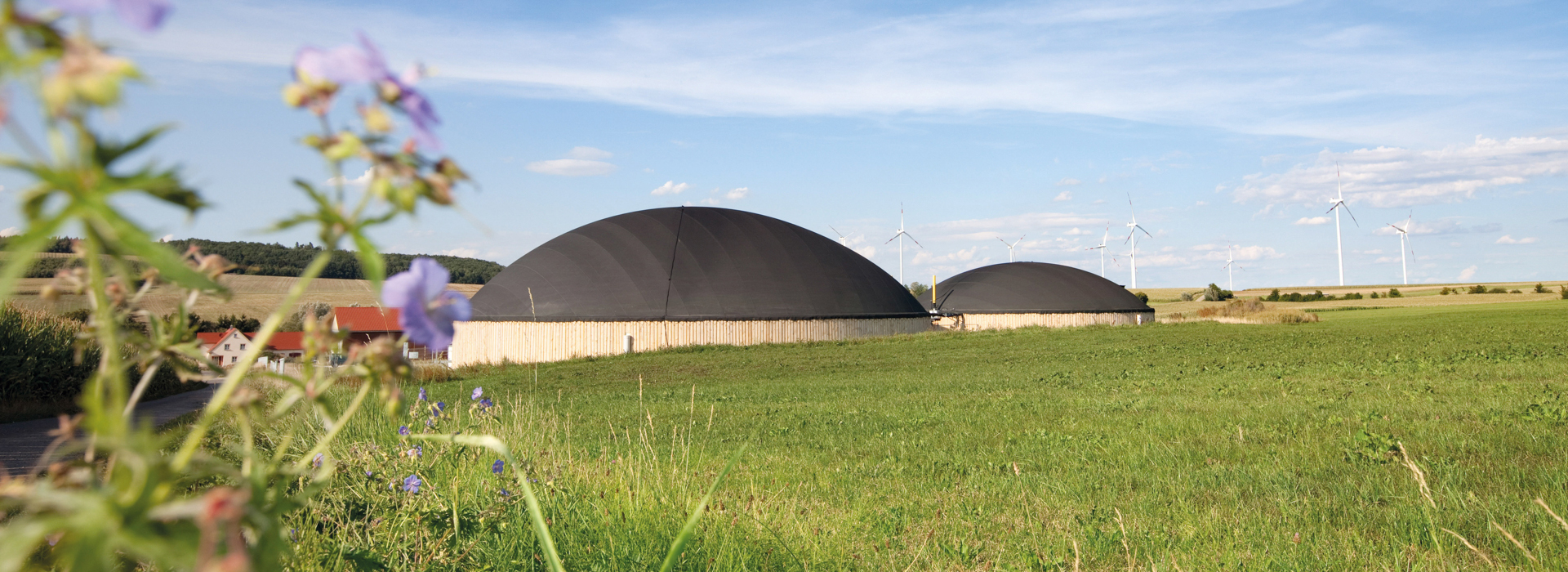 Farmers Happiness Biogasanlage